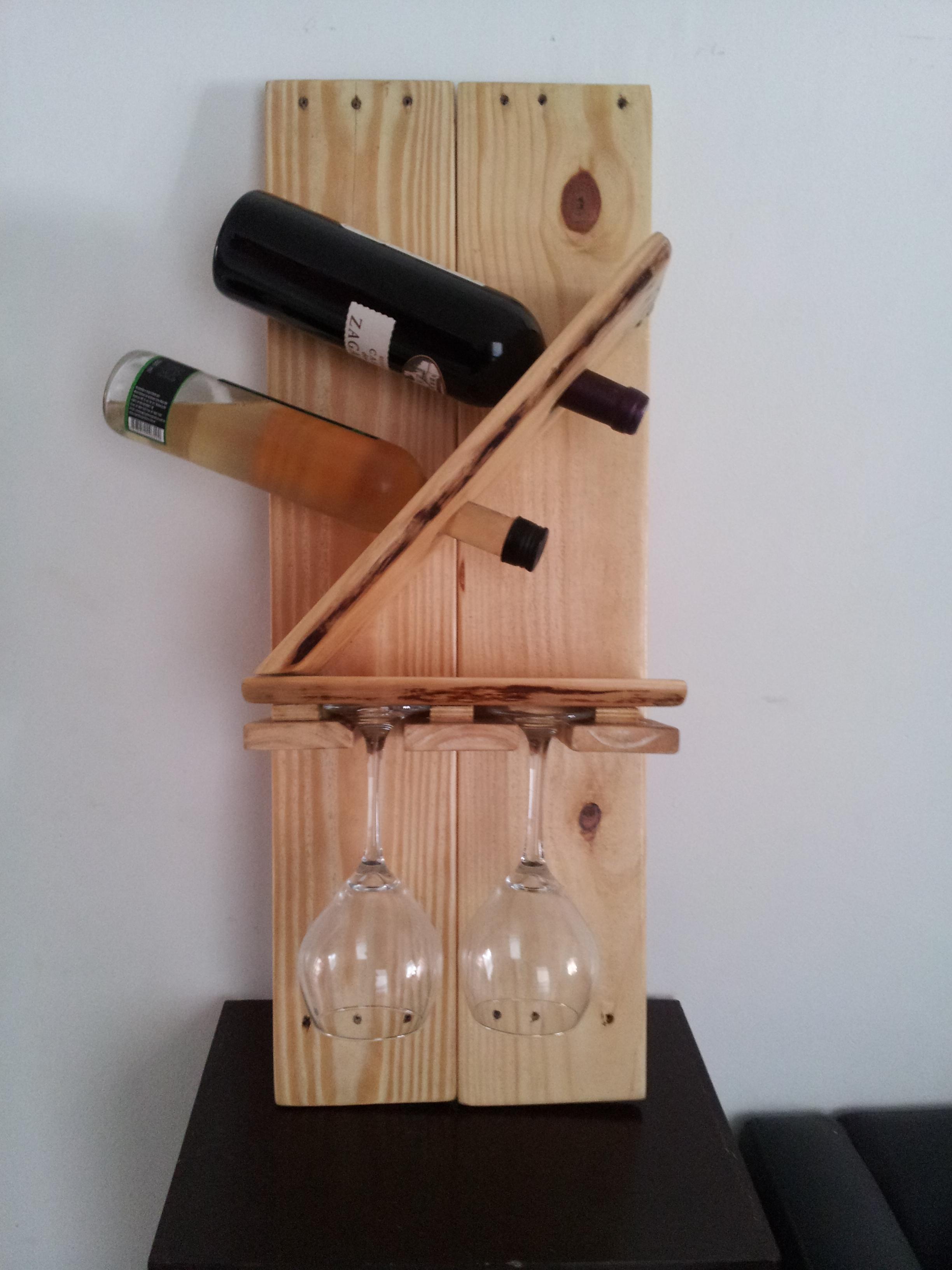 Descarte de sobras de marcenaria porta vinhos #74412C 2448x3264