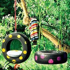 10-Ideias-para-reutilizar-o-pneu-na-decoracao-de-casa-balanco1